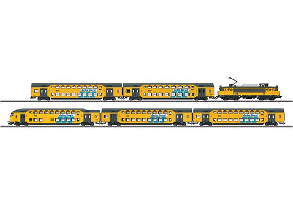 Marklin 26596 BiLevel Commuter Train