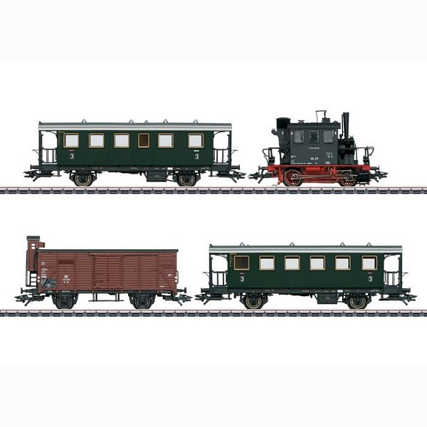 Marklin 26609 Passenger Train with a Freight Car