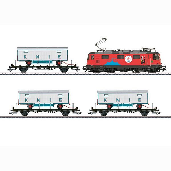Marklin 26615 100 Years of the Swiss National Circus Knie Train Set