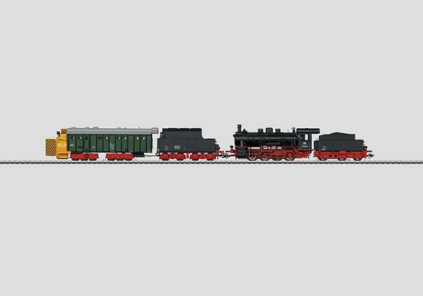 Marklin 26833 Snow Clearing Train Steam Rotary Snowplow BR 55 DB