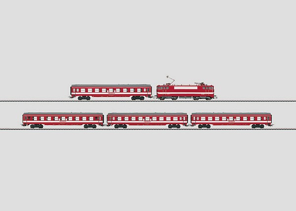 Marklin 28590 Le Capitole Express Train Serie BB 9200 SNCF