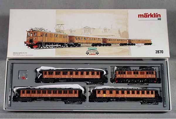 Marklin 2870 Historical Schwedenzug Train Set