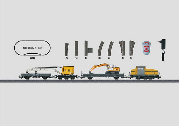 Marklin 29183 Construction Site Starter set
