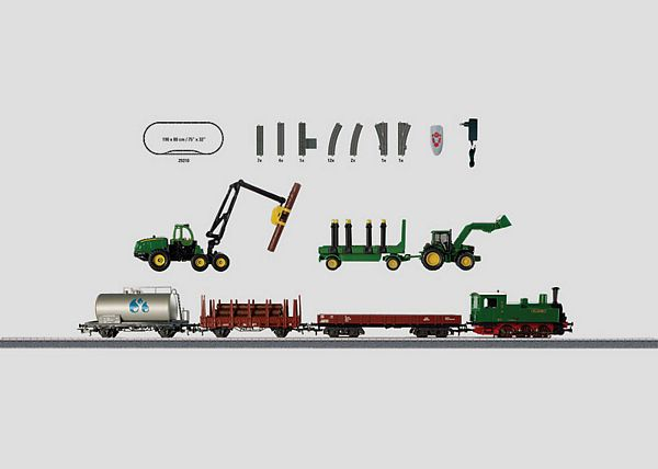 Marklin 29310 Forestry Starter Set