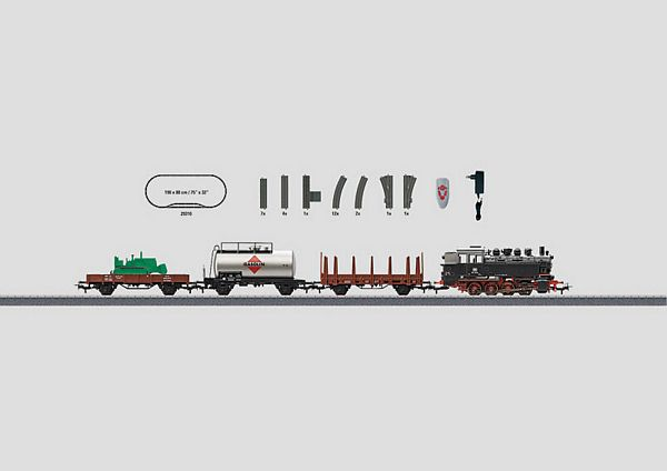 Marklin 29322 German Federal Railroad Freight Train Starter Set 120 Volt