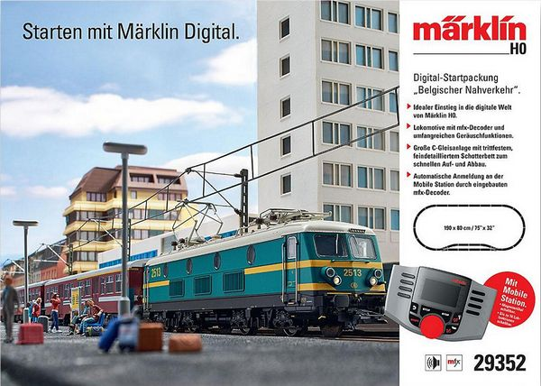 Marklin 29352 Belgium Digital Starter Set