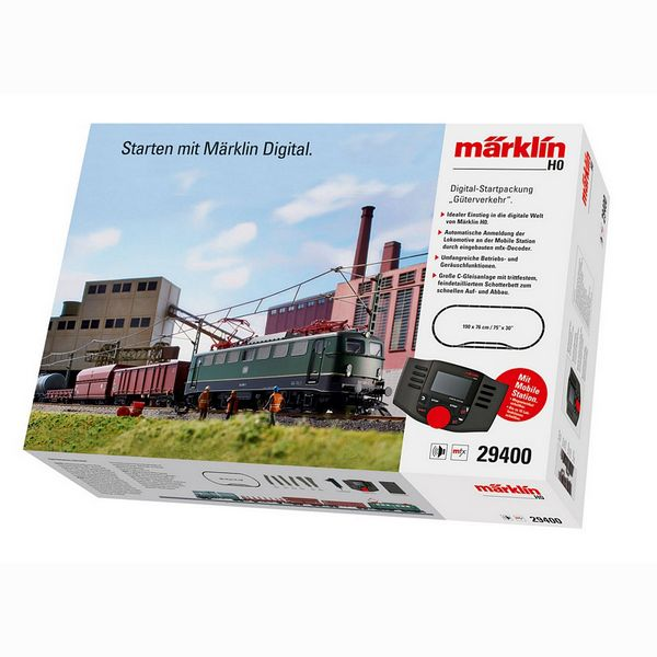 Marklin 29400 Freight Service Digital Starter Set
