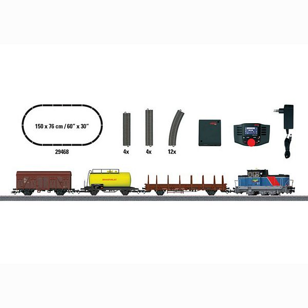 Marklin 29468 Era VI Swedish Freight Train Digital Starter