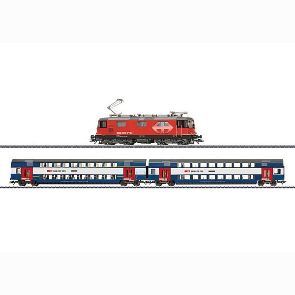 Marklin 29487 Zurich S-Bahn Digital Starter Set