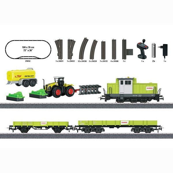 Marklin 29652 Marklin Start up Farming Train Starter Set 230 Volts