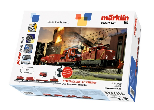 Marklin 29722 Start Up Fire Department Starter Set