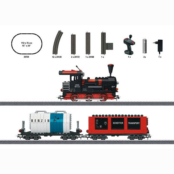 Marklin 29730 Marklin Start up Building Block Train Starter Set with Sound and Light Building Blocks