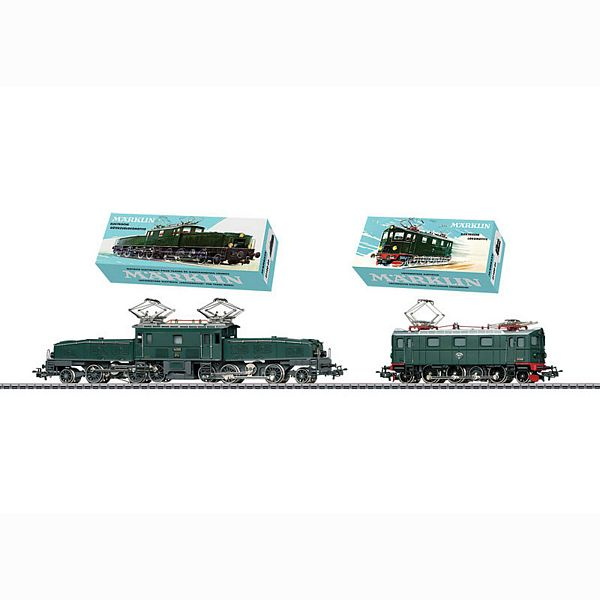 Marklin 31100 Electric Double Set crocodile and Da903