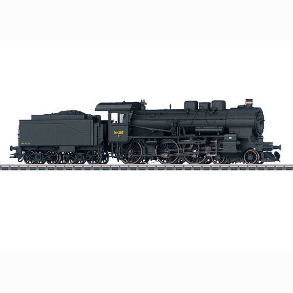 Marklin 37026 Class Litra T 297 Steam Locomotive with Tender