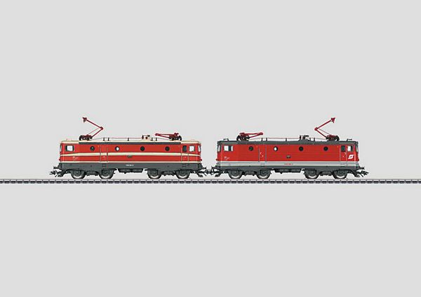 Marklin 37417 2 Electric Locomotives 2 E-Loks BR 1043 OBB