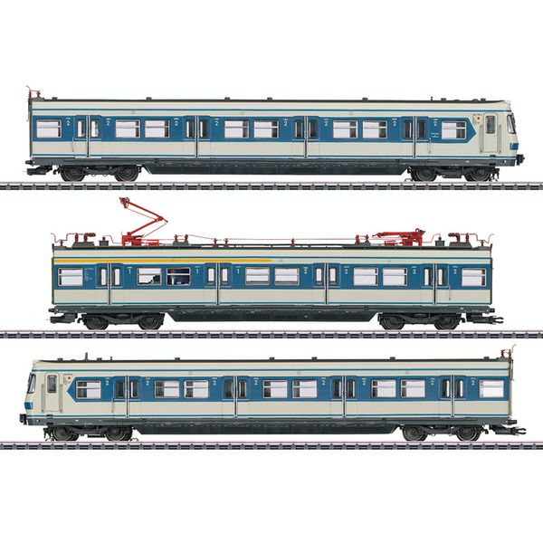 Marklin 37508 Class 420 S-Bahn Powered Rail Car Train