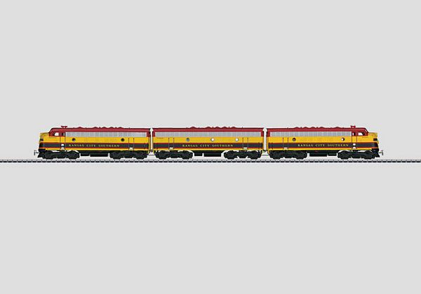 Marklin 37628 Kansas City Southern General Motors EMD class F7
