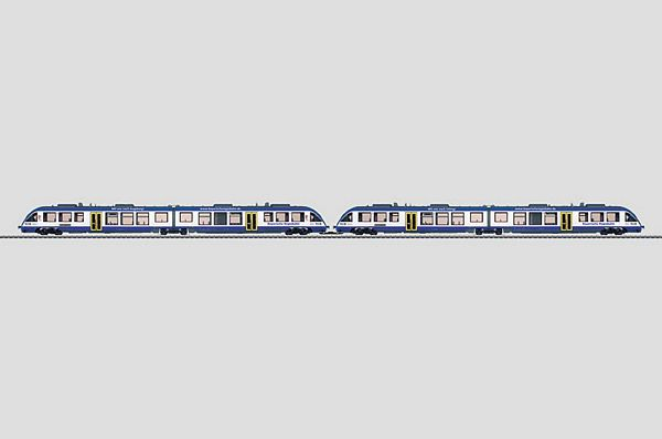 Marklin 37733 Diesel Powered Commuter Cars 2x BR 6482