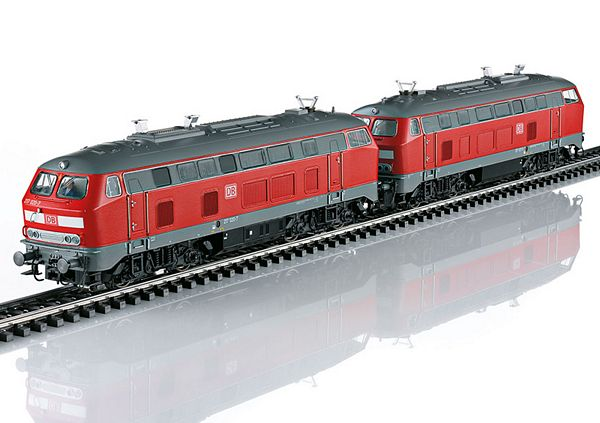 Marklin 37769 DB AG Class 217 Diesel Locomotive Set