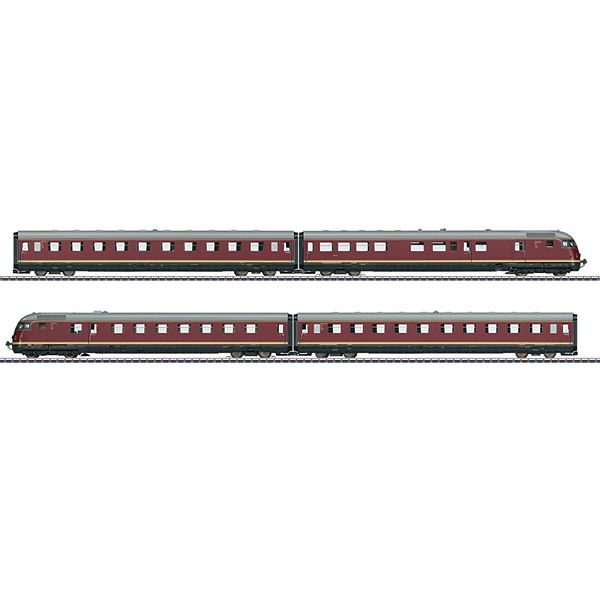Marklin 39082 VT 08 5 Paris Ruhr TEE Diesel Powered Rail Car Train