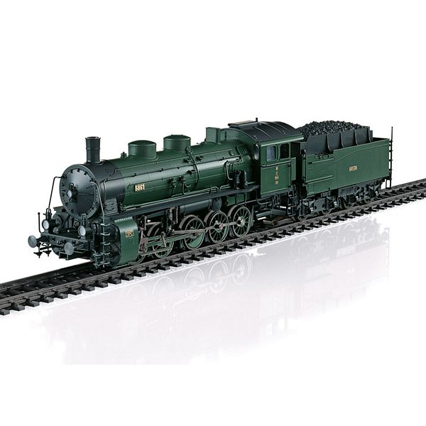 Marklin 39551 Bavarian class G 5-5 heavy freight steam locomotive
