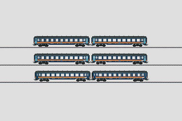Marklin 40690 Tin-Plate Passenger Car Set