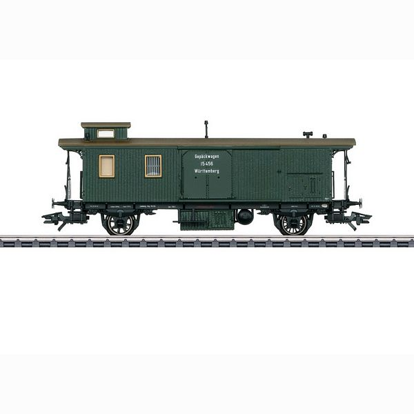 Marklin 42122 Wurttemberg Baggage Car