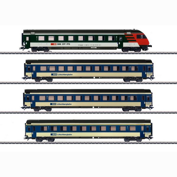 Marklin 42175 Mark IV Express Train Passenger Car Set