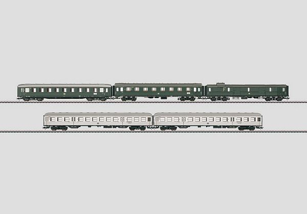 Marklin 42269 Fast Passenger Train Car Set
