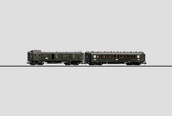 Marklin 42763 D 119 Express Train Passenger Car Set