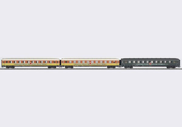 Marklin 42997 Apfelpfeil Express Train Passenger Car Set 2