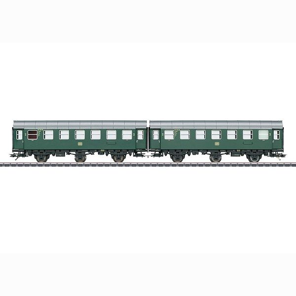 Marklin 43184 Pair of Passenger Cars Type B3ygeb