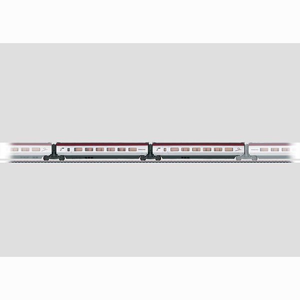 Marklin 43431 Add On Car Set 2 for THALYS PBKA