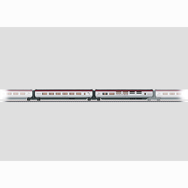 Marklin 43441 Add On Car Set 3 for THALYS PBKA