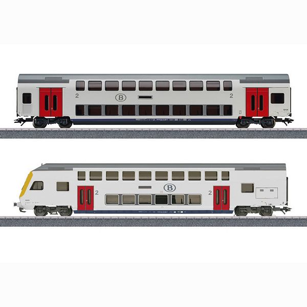 Marklin 43573 Era VI Passenger Train Theme Extension Set
