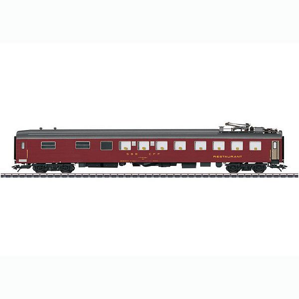 Marklin 43874 SBB Dining Car