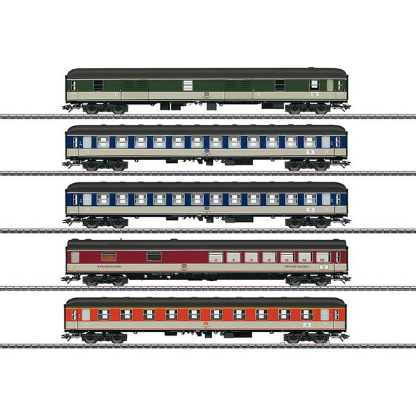 Marklin 43917 DB Pop Design Passenger 5-Car Set Era IV