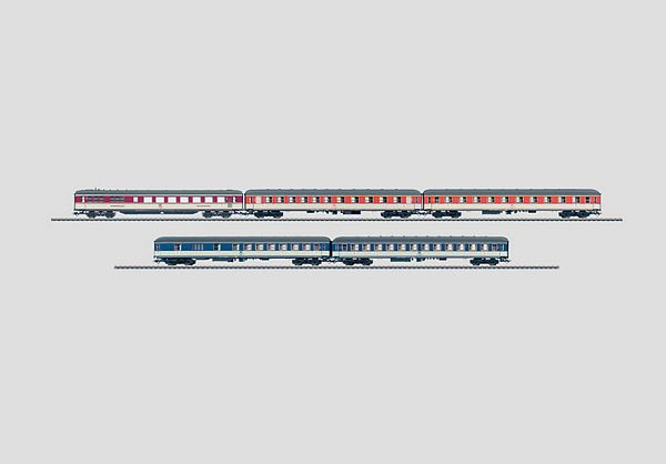 Marklin 43919 Pop Colors Express Train Passenger Car Set