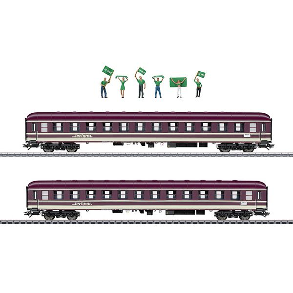 Marklin 43946 Two Type Bm Compartment Cars