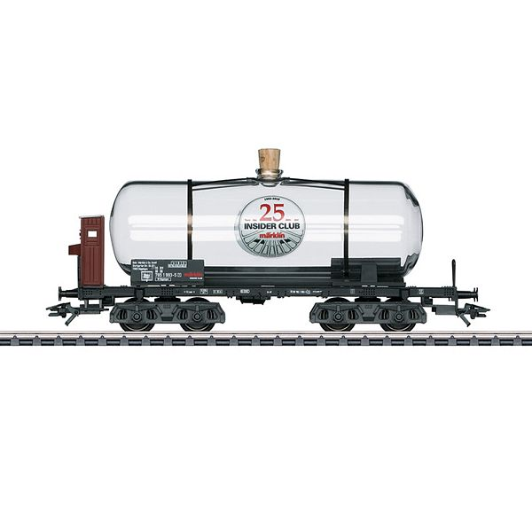 Marklin 44534 Glass Tank Car for 25 Years of Insider Membership