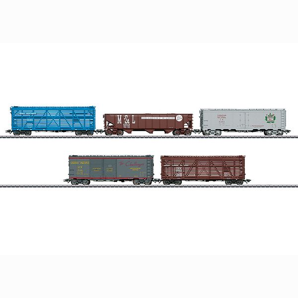 Marklin 45658 North American Freight Car Set