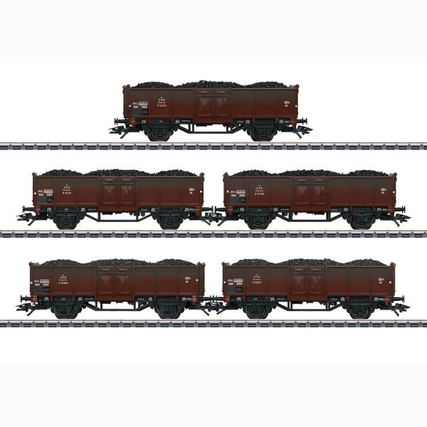 Marklin 46055 Set with 5 Type P Freight Cars