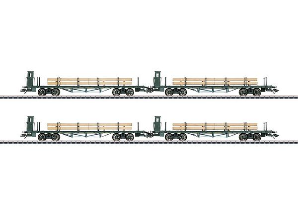 Marklin 46287 Flat Car Set