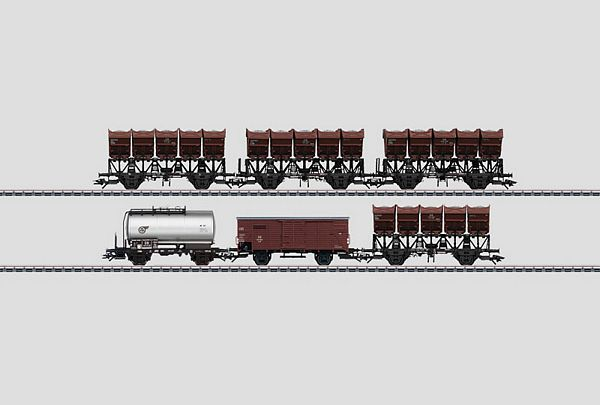 Marklin 46351 Dump Car Set 2 Ommi 51