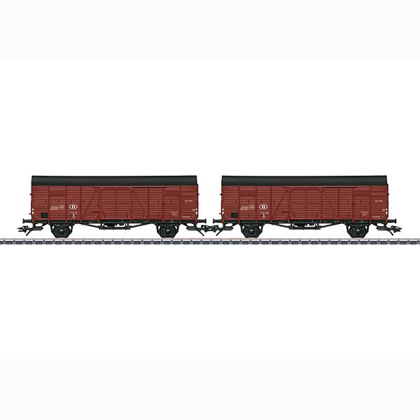 Marklin 46383 Two Type Glm Boxcars