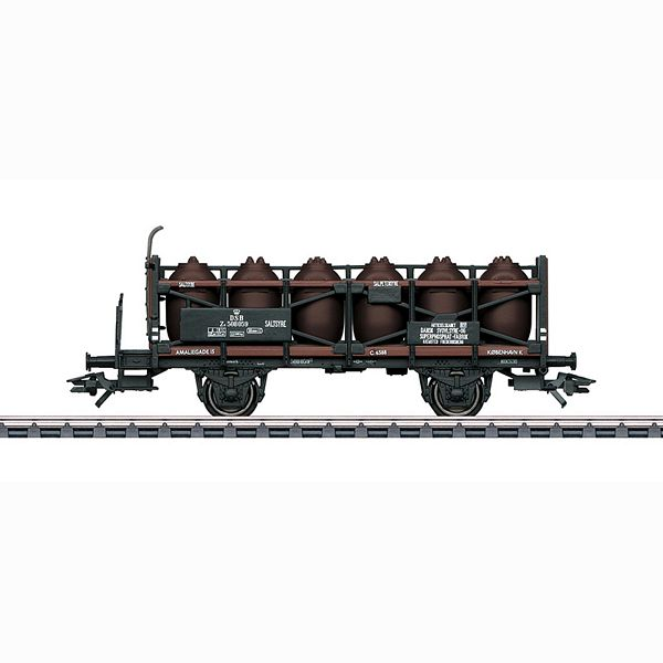 Marklin 46393 Acid Pot Wagon With Brakemans Platform