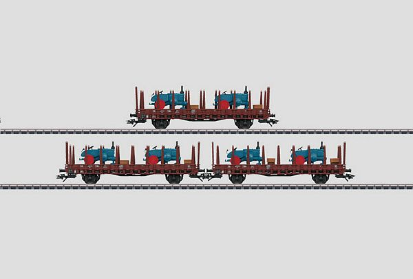 Marklin 46400 Stake Car Set Rr Stuttgart Rr 20 DB