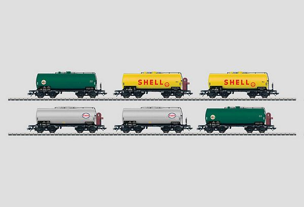 Marklin 46528 Set with 6 Tank Cars