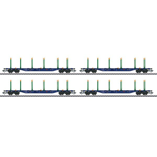 Marklin 47093 Type Sgnss KLV Transport Car Set