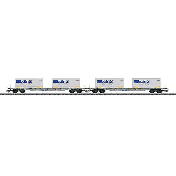 Marklin 47096 Two Type Sgnss Container Flat Cars